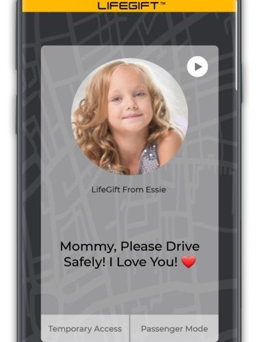 LIFEGIFT: The World's First Emotion – Based Distracted Driving And Pedestrian Alert App Is Launched