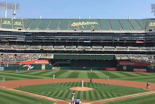 New York vs Oakland A's on Labor Day 2018