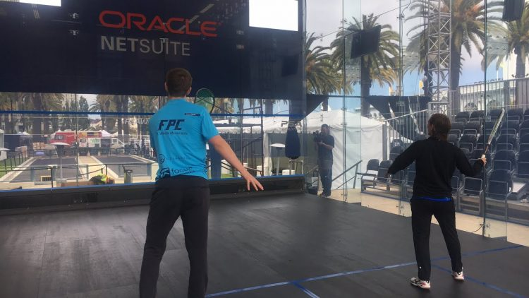 Oracle NetSuite Open Squash 2018 Live With The Players