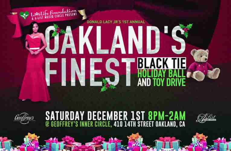 Donald Lacy's Love Life Foundation Black Tie Holiday Ball & Toy Drive In Oakland