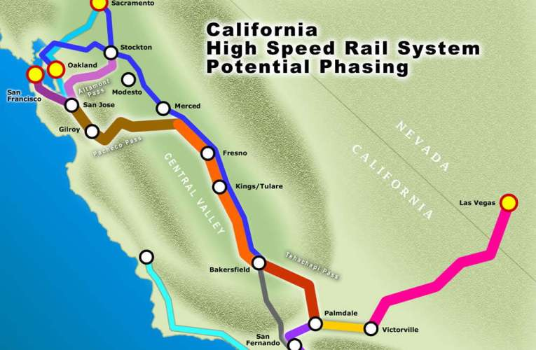 Oakland Could Have Had California High Speed Rail