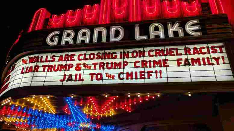 Grand Lake Theater Oakland Jail To The Chief