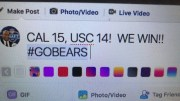 Cal 15, USC 14, Cal ends 15 years of losses to USC