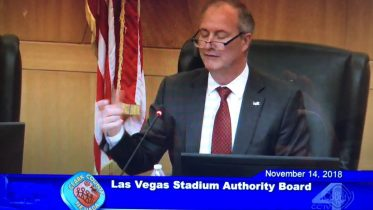 Las Vegas Stadium Authority's Steven Hill
