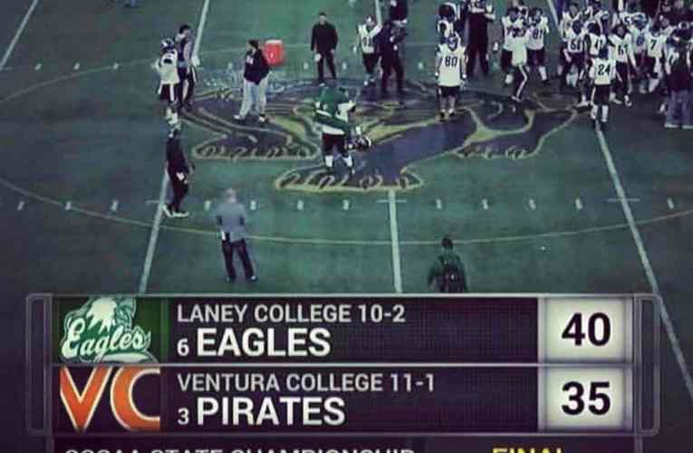 Congratulations To Oakland Laney College Eagles, CCCAA State Champions
