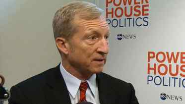 Tom Steyer (photo courtesy ABC News)