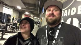 father and son zennie62 fans at - Father and Son Zennie62 Fans At 2018 KC Chiefs vs Raiders Game