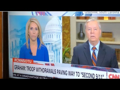 """Senator Lindsey Graham Says """"Bullshit"""" On CNN Without Being Bleeped Out"""