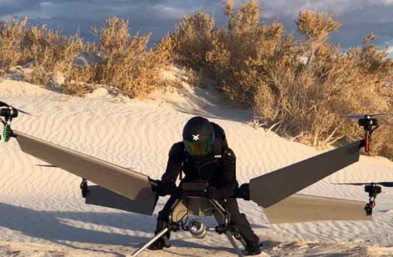 Personal Flying Vehicle Unveiled At CES Las Vegas 2019