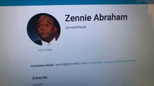 zennie abraham is youtube certif 300x169 - Want Your Story Our There? Let Zennie62Media Help
