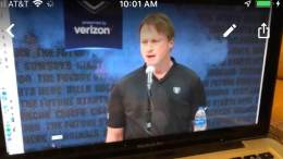Jon Gruden Press Conference 2019 NFL Combine