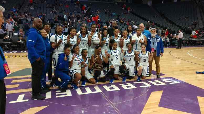 Oakland High School Wildcat Girls Win