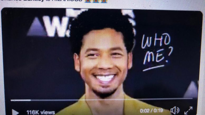 Jussie Smollett Indicted On 16 Felony Counts For Lying To Chicago Police