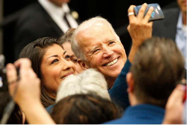 Another Lucy Flores Selfie With Joe Biden At The 2014 Event