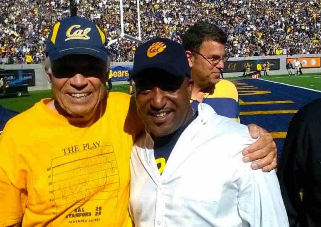 Cal Football's Joe Kapp and Rusty Simms