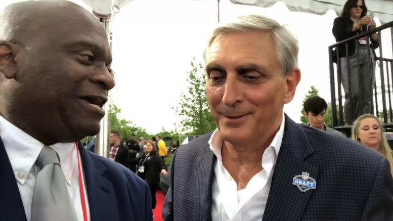 Butch Spyridon Nashville CVB CEO Interview At 2019 NFL Draft Red Carpet