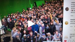 Avengers: Endgame Cast / Crew Photo From Pinewood Studios Atlanta Fayetteville Ga