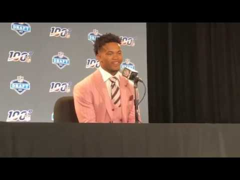 Kyler Murray And Daniel Jones 2019 NFL Draft Interviews Show Similar Styles