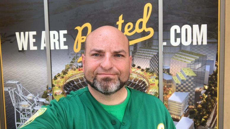 Oakland Athletics Ballpark Fan Rally Live At Jack London Square