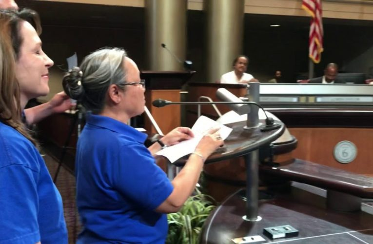 City Of Oakland Workers At Oakland City Council For Better Pay