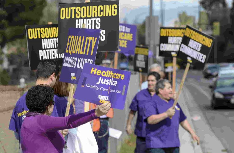 Oakland News: 1,000s Of Kaiser Permanente Workers To Protest Today Labor Day At 10 A.M. As Strike Nears