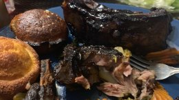 Happy 4th Of July – Enjoy Eating Ribs With Family