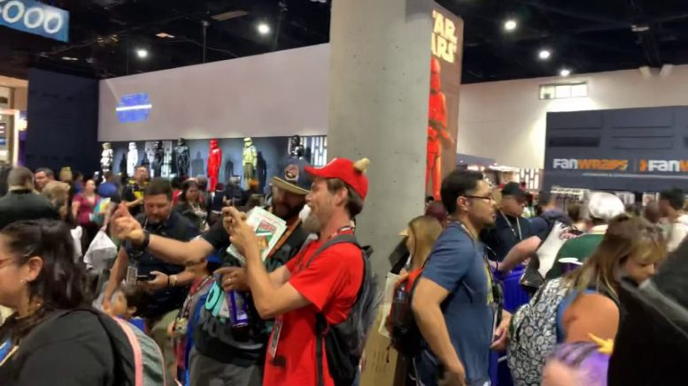 He Man Masters, Star Wars Ros At San Diego Comic Con 2019