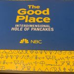 "Nbc's ""the Good Place"" Brands Mary Janes For San Diego Comic Con 2019"