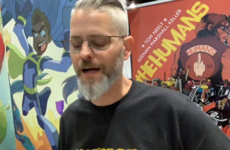 Tom Neely Artists Interview At San Diego Comic Con 2019