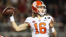 Trevor Lawrence Clemson Qb Talks Upcoming 2019 Acc Season