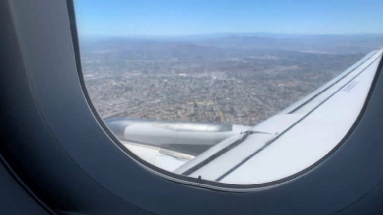 United Airlines B737 800 Sfo To San Diego Landing July 16 2019