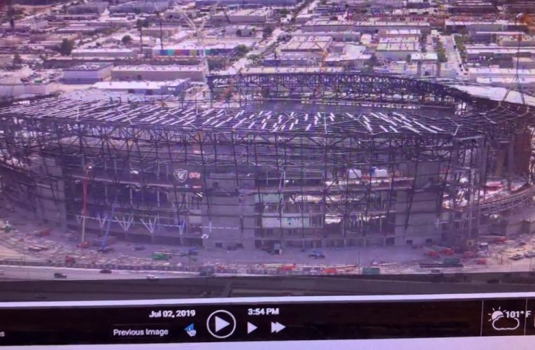 Was Raiders Las Vegas Stadium Construction Effected By July 4th California Earthquake?