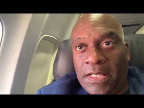 Zennie Abraham On United Airlines To San Diego Comic Con 2019