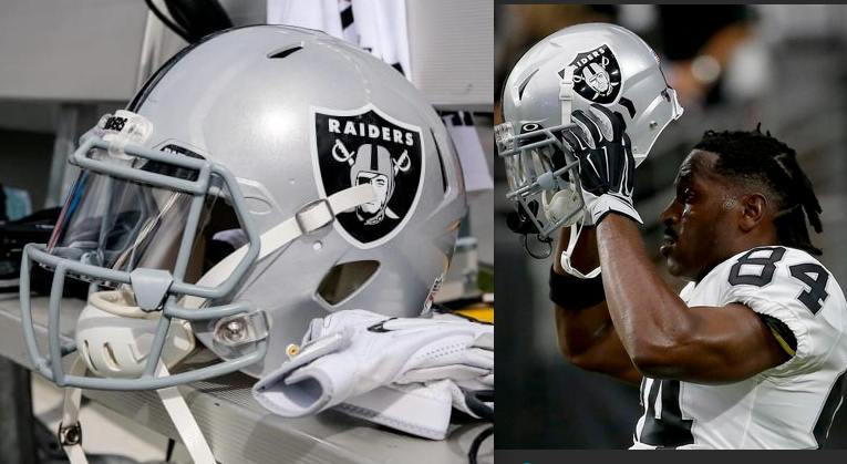 Antonio Brown Helmet Maker Schutt Says Legal Air XP Q11 Design Better For Raiders Wide Receiver