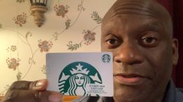 Thanks To Auntie Bettie For The Starbucks Gift Card For My Birthday!