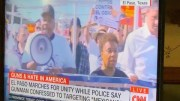 U.s. Congresswoman Barbara Lee Of Oakland In El Paso Marching With Beto O'rourke