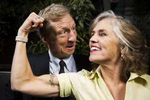 Tom Steyer Wife Kat Taylor Pictures