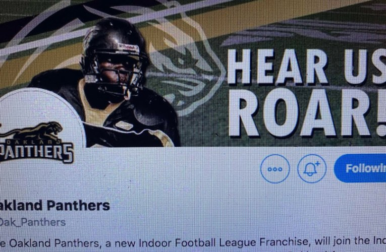 About Oakland Panthers, Oakland's Newest Football Team Can Help Cope With NFL Raiders To Las Vegas