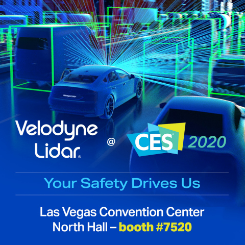 Velodyne Lidar Advances Driver Safety With New Products At CES Las Vegas 2020