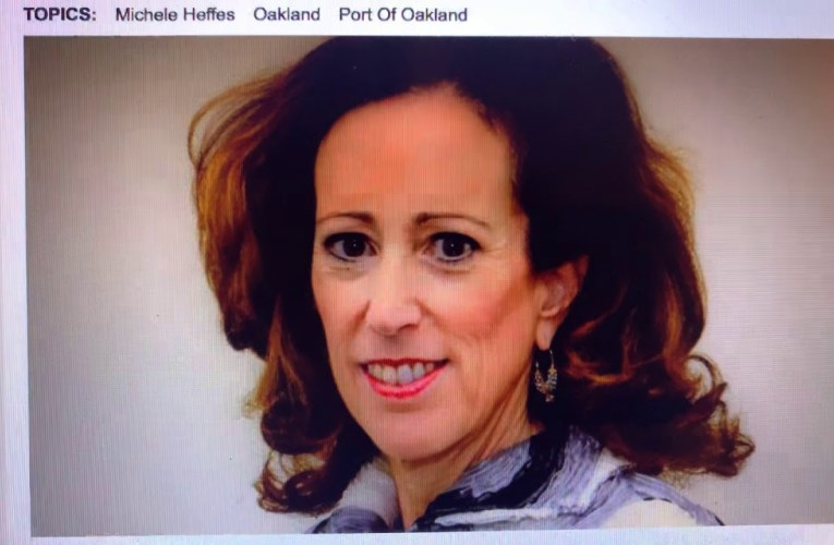 Michelle Heffes Is First Woman To Be Port Of Oakland Attorney In Its 92 Year History
