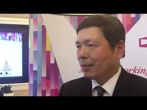 Walter Yeh Talks COMPUTEX Taipei During An Event At CES 2016 Las Vegas