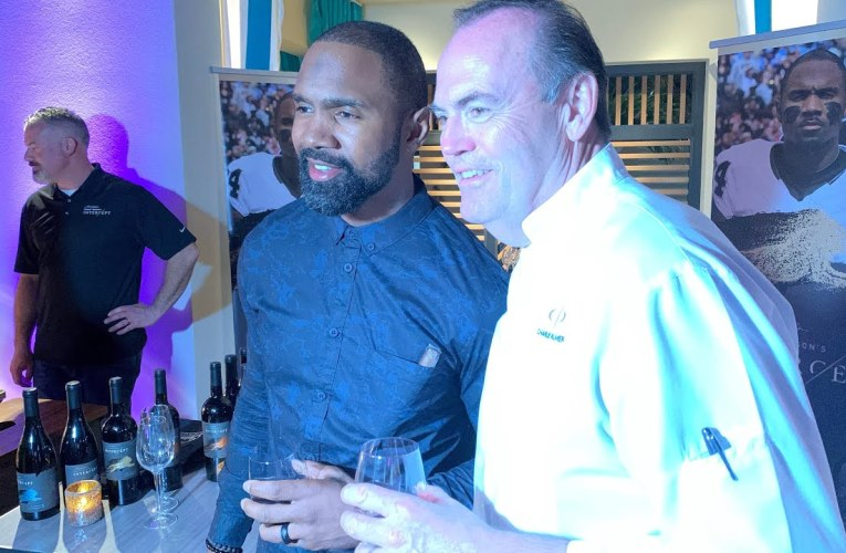 Charles Woodson Wines Teams With Charlie Palmer Chef At Culinary Kickoff Super Bowl LIV Party Miami