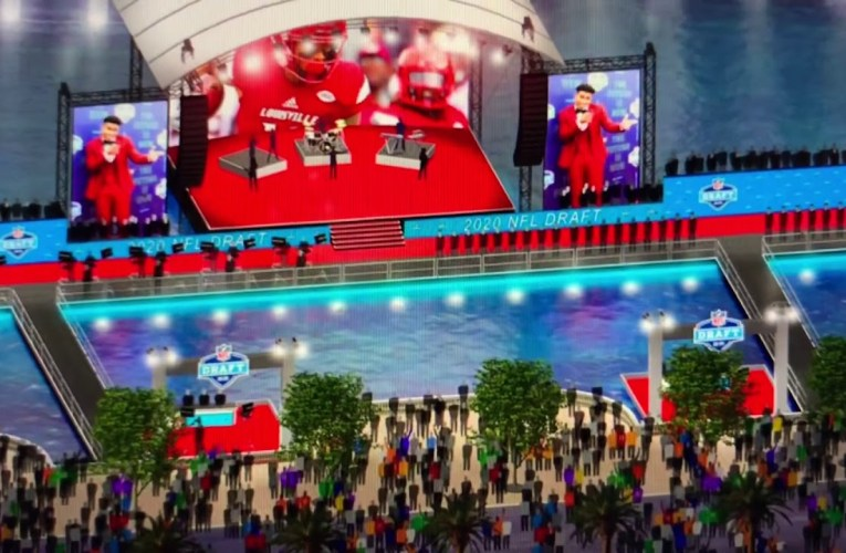 Las Vegas 2020 NFL Draft Features Bellagio Fountains, Ceasars Forum In Strip-Centered Experience