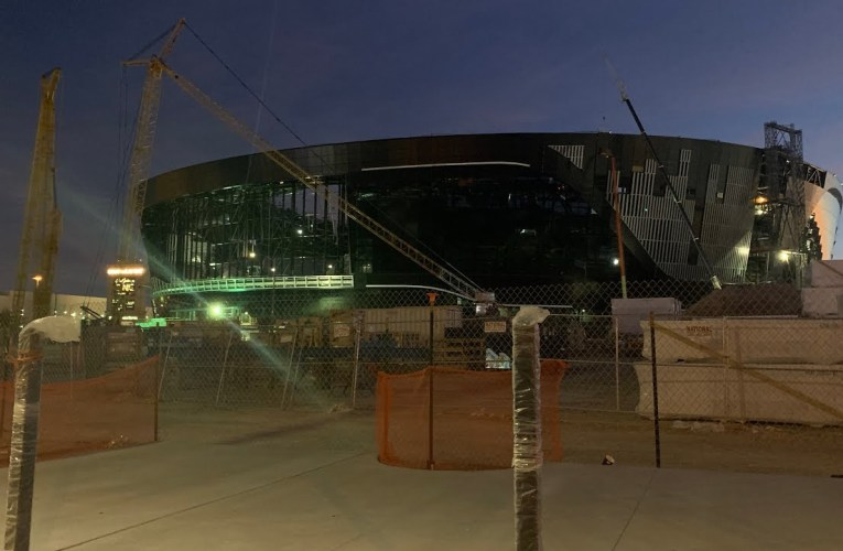 Las Vegas Stadium Authority Report Confirms Whistleblower Claims: Roof Delayed To May 2020 Or Beyond
