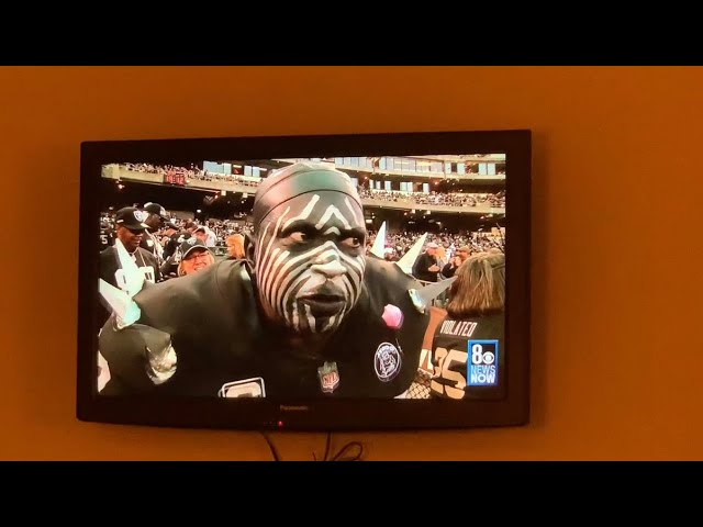 Violator, Oakland Raiders Superfan, Not Coming To Las Vegas, Featured In Channel 8 Commercials