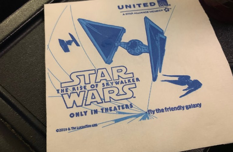 United Airlines Celebrates Star Wars: The Rise Of Skywalker