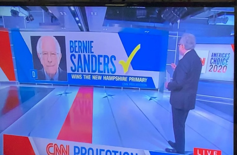Bernie Sanders Wins 2020 New Hampshire Primary With Pete Buttigieg A Close Second