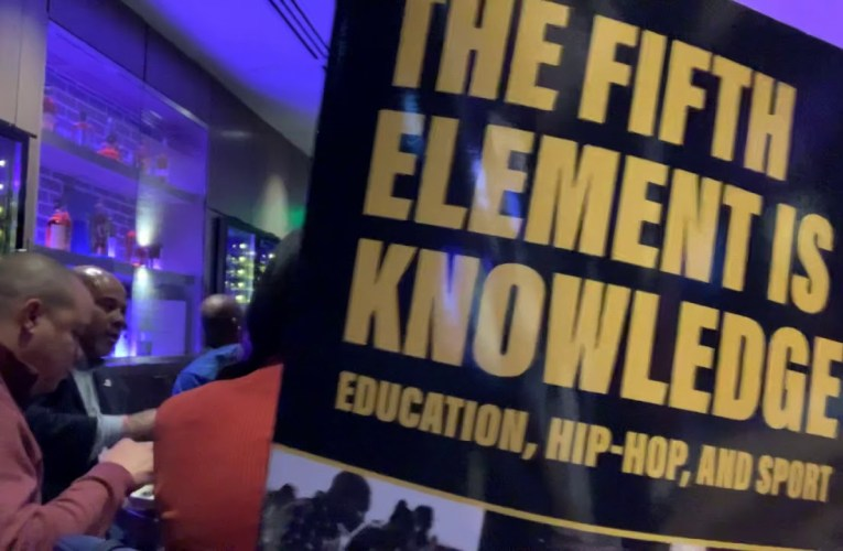 "C. Keith Harrison's New Book: ""The Fifth Element Is Knowledge"" On Education, Hip-Hop, Sport"