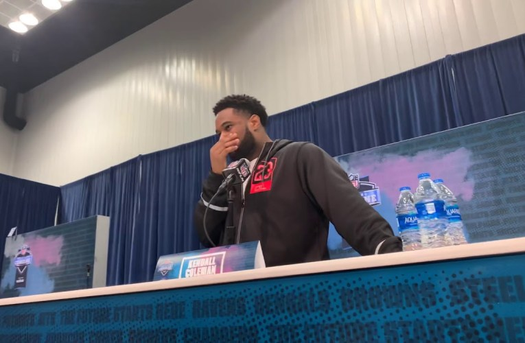 Kendall Coleman Syracuse Defensive End Interview At 2020 NFL Combine
