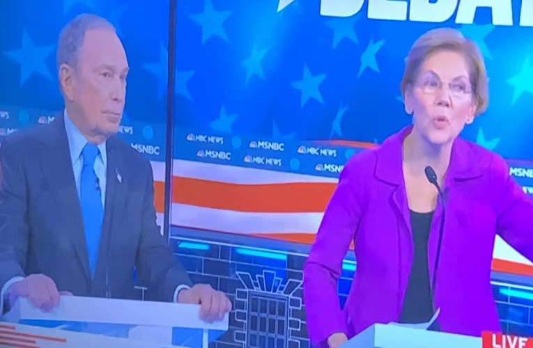 Mike Bloomberg Gets Piled On About #MeToo NDAs At MSNBC Democratic Debate Then Sanders Saves Him